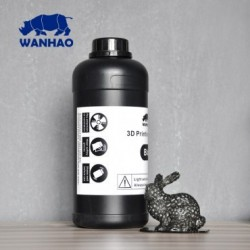 Wanhao 3D-Printer UV Resin - 1000 ml - Noir