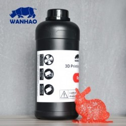 Wanhao 3D-Printer UV Resin - 1000 ml - Red