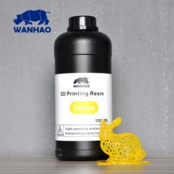 Wanhao 3D-Printer UV Resin - 1000 ml - Jaune