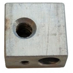 Wanaho Hot end nozzle block MK8/MK9